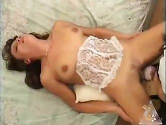 Beautiful girl is blowing her doggy cock