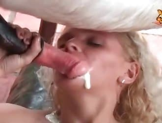 Brutal zoophilia porn action with a horse
